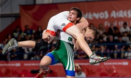 Pakistan wins first medal in 2018 Youth Olympics in wrestling