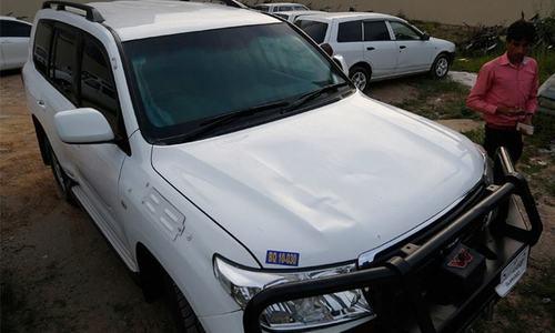 امریکی قونصل خانے کی گاڑی کی ٹکر سے پاک بحریہ کا ملازم زخمی