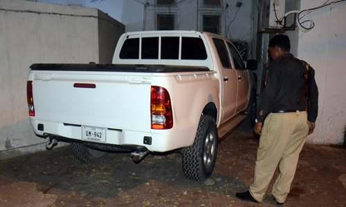 US consulate vehicle hits bike rider in Karachi