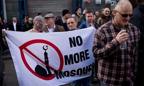 برطانیہ میں مذہبی منافرت کے جرائم میں 40فیصد اضافہ