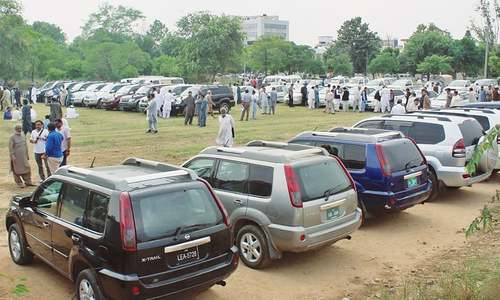 Auction of vehicles brings NHA Rs60m