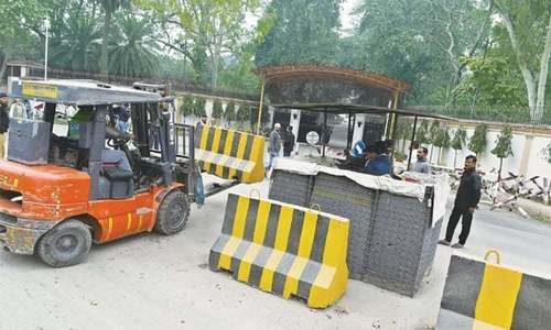 ISI given another month to complete 'minor work' to clear Khayaban-i-Suharwardy