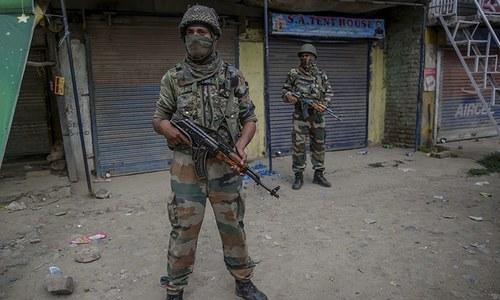 کشمیر: بھارتی فوج کی فائرنگ سے مزید 3 نوجوان جاں بحق