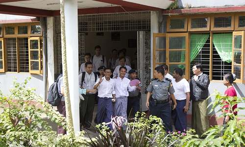 3 Myanmar journalists in court over story govt calls false