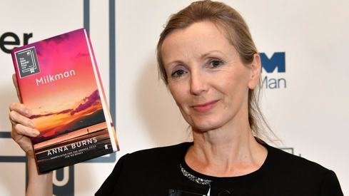 Irish author Anna Burns wins Man Booker Prize