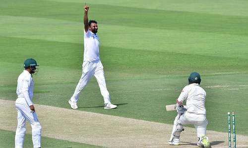 Australia bowled out for 145, concedes big lead in 2nd test
