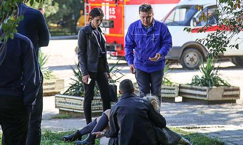 کریمیا: کالج پر حملے میں 17 افراد ہلاک
