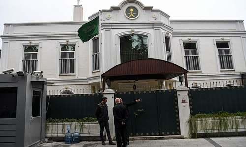 Istanbul police search Saudi consul's residence in Khashoggi probe