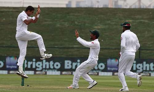 Four-wicket Abbas brings Pakistan to verge of series victory against Australia