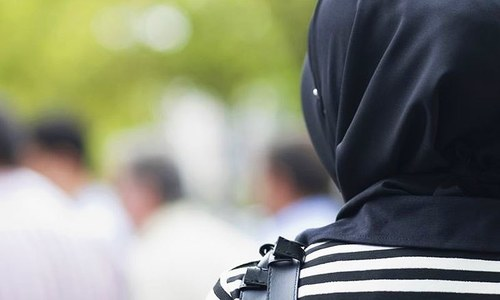Young female recruit asked to resign or stop wearing a hijab to work
