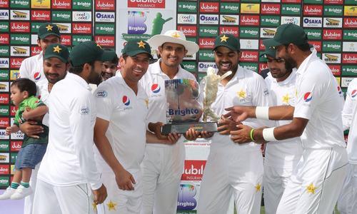 پاکستان کی آسٹریلیا کے خلاف سیریز میں فتح