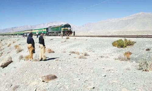 Quetta train link cut off from rest of country after bomb attack