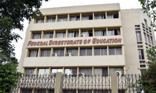 Directorate looking after capital's 422 educational institutions without head
