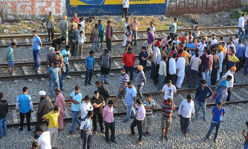 50 revellers die in Amritsar train disaster