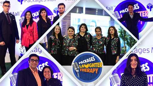 Lahore's Packages Mall hosts a successful evening of Laughter Therapy