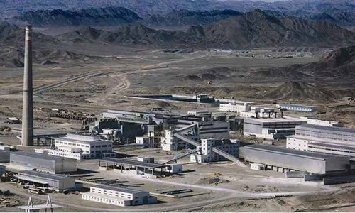Balochistan to take up Saindak lease issue with federal government
