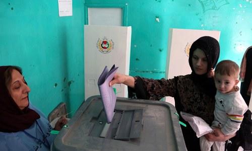 افغانستان، دھماکے اور عام انتخابات