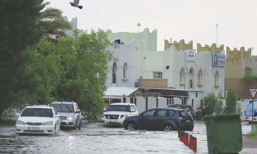 Qatar receives almost a year's worth of rain in one day