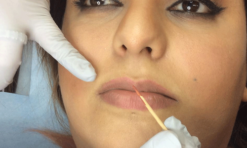 Pakistani women are getting their faces tattooed with permanent make-up. Here's why