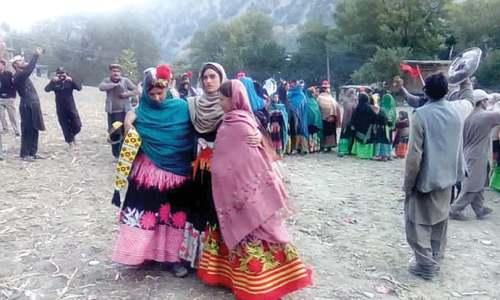 Dancing, singing marks death of Kalash elder