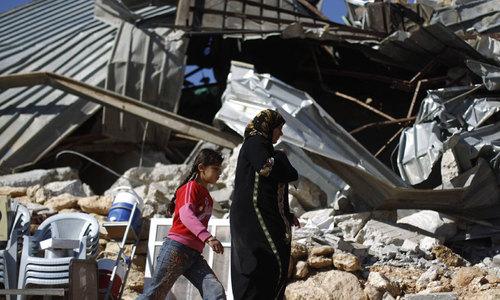 اسرائیل نے فلسطینی گاؤں مسمار کرنے کا فیصلہ ملتوی کردیا