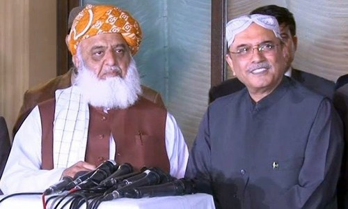 Democratic forces in the country appear to be weakening: Zardari