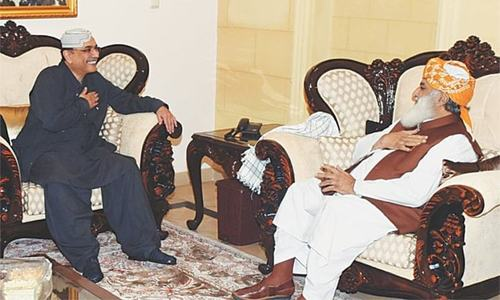 'Democratic forces' need to devise joint strategy: Zardari
