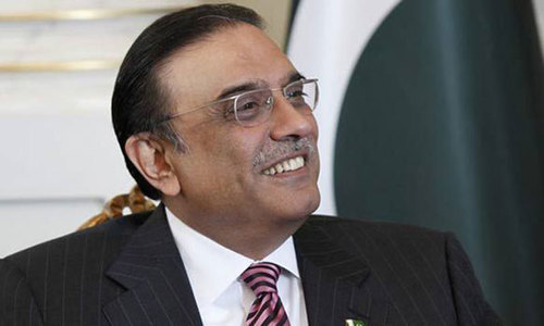 Zardari's threat