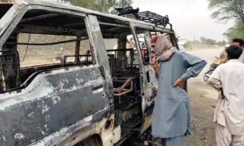 6 burn to death as petrol-laden wagon collides with truck in Machh