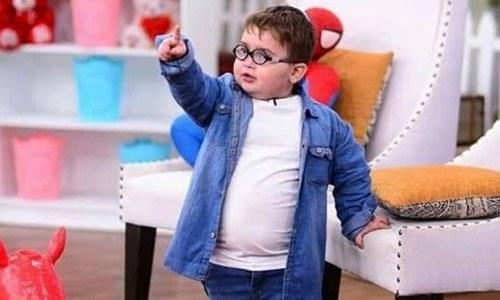 'ننھے احمد کا یہ برتاؤ والدین کی غلط تربیت ہے'