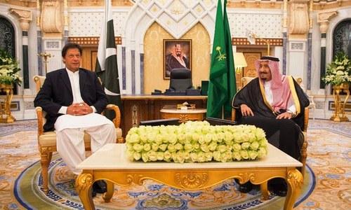 وزیراعظم کی شاہ سلمان سے ملاقات،مختلف امور پر تبادلہ خیال