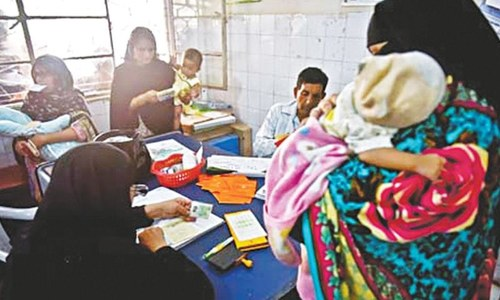A Karachi woman who is changing entrenched attitudes about healthcare among her area's women