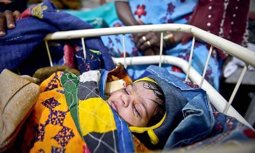 تھرمیں وائرل انفکیشن سے مزید 9 بچے جاں بحق
