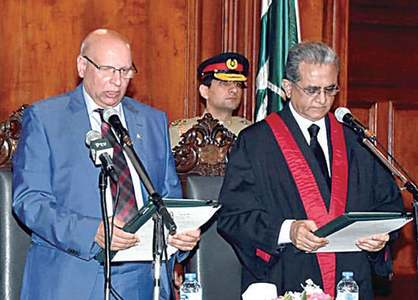 Justice Anwar sworn in as LHC chief justice