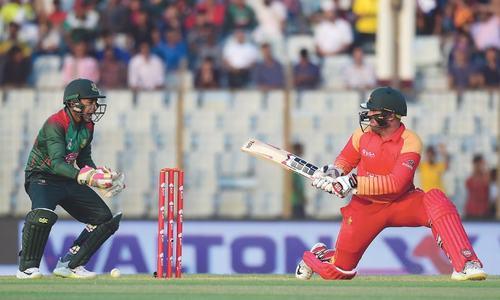 Bangladesh beat Zimbabwe to clinch ODI series