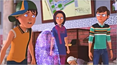 The 3 Bahadur make superhero friends and dangerous enemies in new trailer