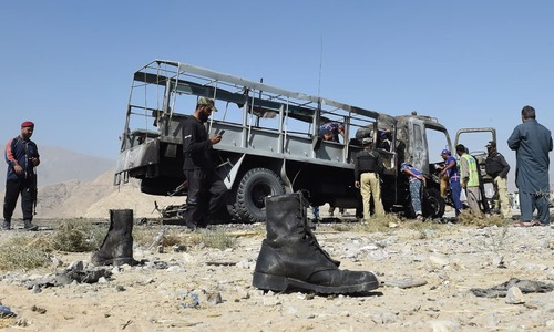 How death stalks policemen in Quetta