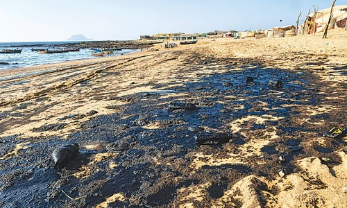 Mubarak village fishermen await rehabilitation measures after oil spill