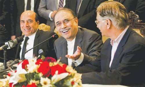 Zardari sees plot to roll back 18th Amendment