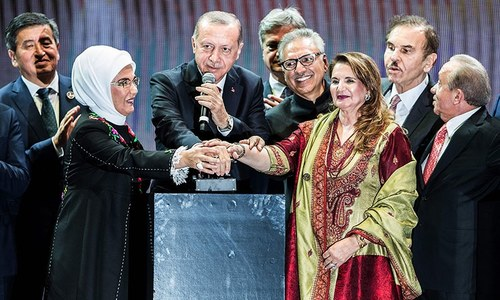 President Alvi attends inauguration ceremony of Istanbul Grand International Airport