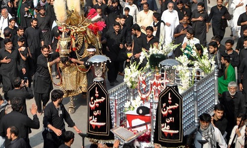 Chehlum of Imam Husain observed with due reverence across Pakistan