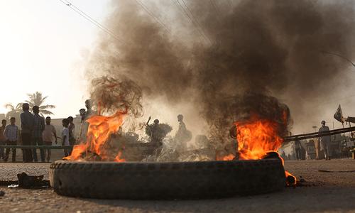 مذہبی جماعتوں کا احتجاج: سڑکیں بلاک، عوام کو پریشانی کا سامنا