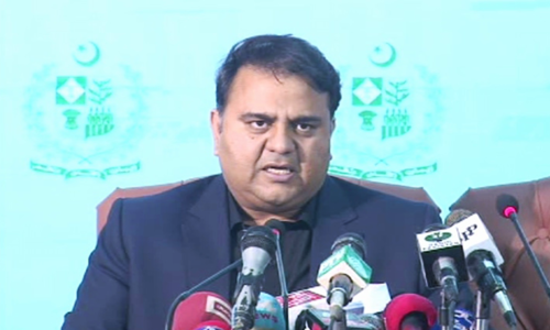 Opposition backs govt's strategy on tackling protests, says Fawad