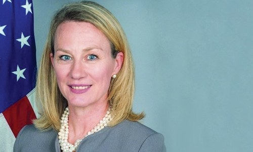 US Ambassador Alice Wells to visit Islamabad on Tuesday