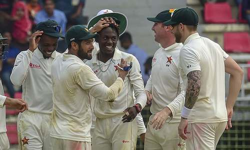 Zimbabwe clinch first Test victory in 5 years, beat Bangladesh by 151 runs