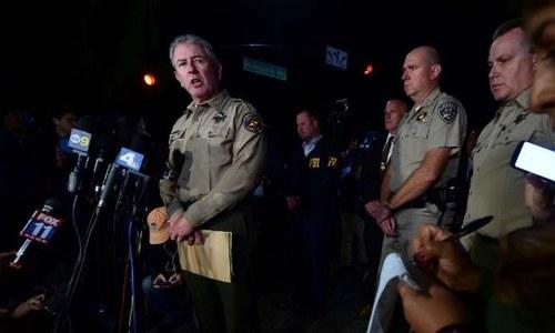 پولیس حملہ آور کے مقاصد معلومات کرنے کی کوشش کر رہی— فوٹو: بشکریہ سی این این