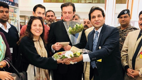 PIA honours Allama Iqbal, celebrates with his grandson