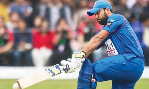 CRICKET: THE MAN WHO REFUSED TO GIVE UP