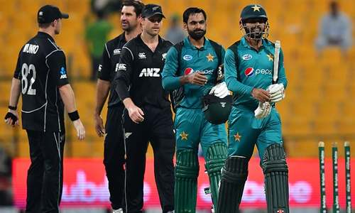 Third Pakistan-New Zealand ODI abandoned, series drawn 1-1