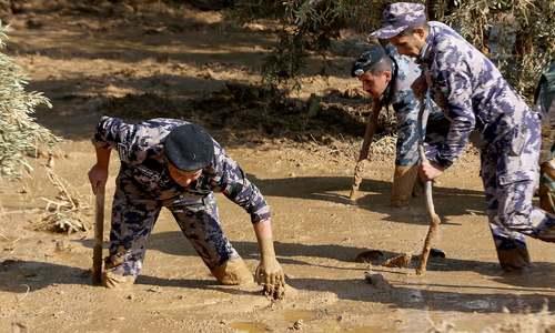 اردن کو ایک مرتبہ پھر سیلاب کا سامنا